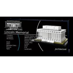 Plaque type UCS Lincoln...
