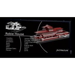Plaque type UCS Robie House...