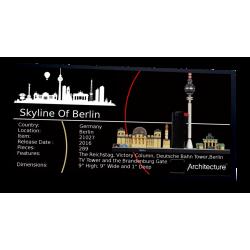 Plaque type UCS Berlin...