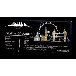 Plaque type UCS London...