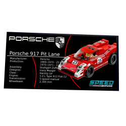 Plaque type UCS Porsche...