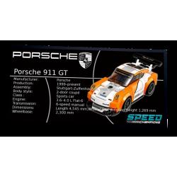 Plaque type UCS Porsche 911...