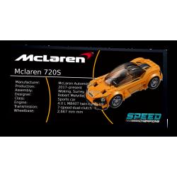 Plaque type UCS McLaren...