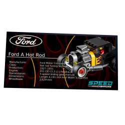 Plaque type UCS Ford Model...