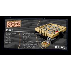 Plaque type UCS Maze réf...