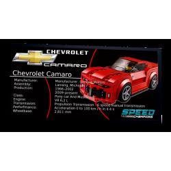 Plaque type UCS Chevrolet...