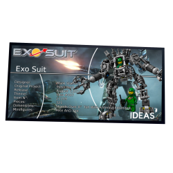 Plaque type UCS Exo Suit...