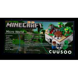 Plaque type UCS  Minecraft...