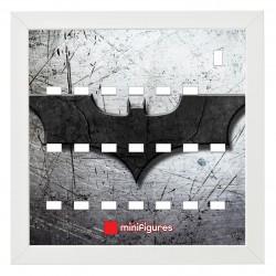 Cadre Batman logo -  25x25cm