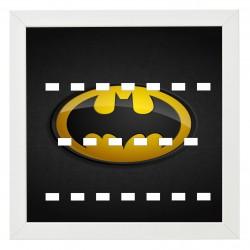 Cadre Batman fond carbone-...