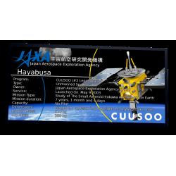 Plaque type UCS Hayabusa...