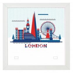 Cadre Thème Londres-London...