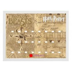 Cadre Thème Harry Potter 30x40