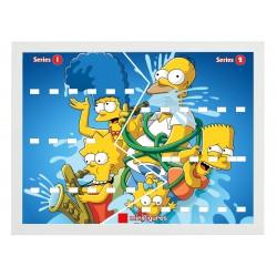 Cadre Thème Simpsons Serie...