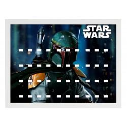 Cadre Thème Star Wars Boba...