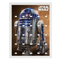 Cadre Thème Star Wars R2D2...