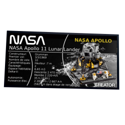 Plaque type UCS Lunar...