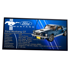 Plaque type UCS Ford...