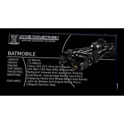 Plaque Type UCS Batmobile...