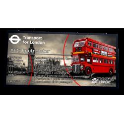 Plaque type UCS London Bus...