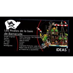 Plaque type UCS Pirates Of...