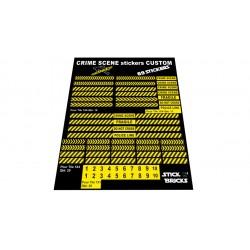 Planche Stickers Scène de...