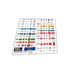 Planche  MAX 144 Stickers...