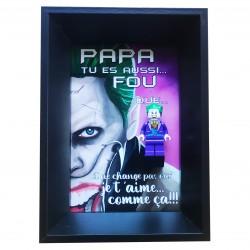 Cadre Fête des Pères Joker...