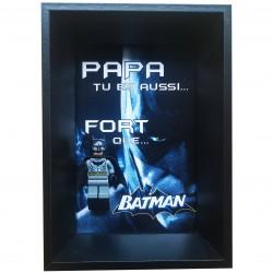 Cadre Fête des Pères Batman...