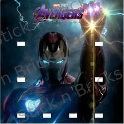 Fond de cadre Avengers End...
