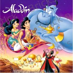 Fond de cadre Aladdin 25x25...