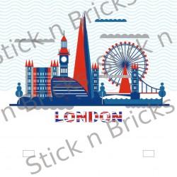 Fond de cadre London...