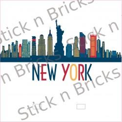 Fond de cadre New York...