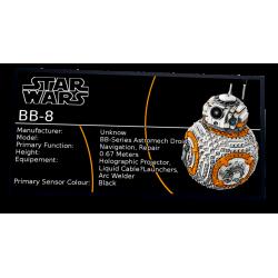 Plaque type UCS  BB-8 réf...