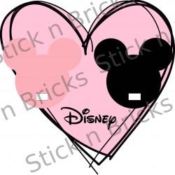 Fond de cadre Mickey &...