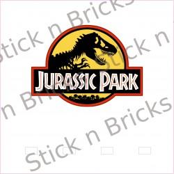 Fond de cadre Jurassic Park...