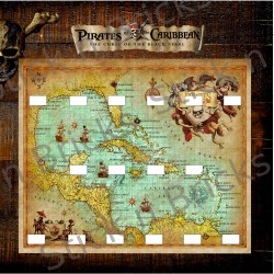 Fond de cadre Pirates des...
