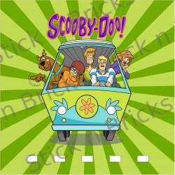 Fond de cadre Scooby Doo...