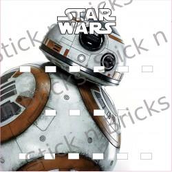 Fond de cadre Star Wars BB8...