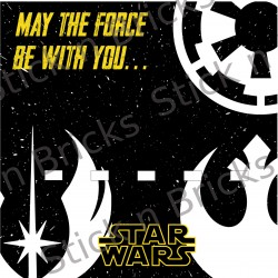 Fond de cadre Star Wars May...