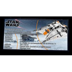 Plaque type UCS Snowspeeder...