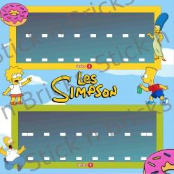 Fond de cadre The Simpson...