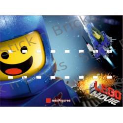 Fond de cadre Série Lego...