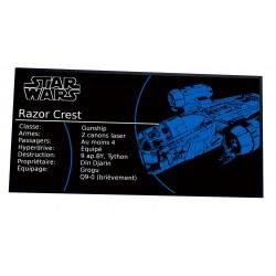 Plaque type UCS Star Wars...
