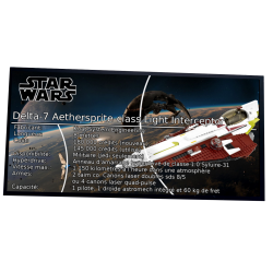 Plaque type UCS  Obi-Wan's...