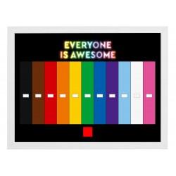 Cadre Série Everyone Is...