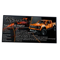 Plaque Type UCS Ford F-150...