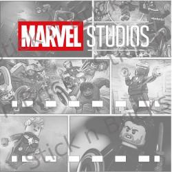 Fond de cadre Série Marvel...