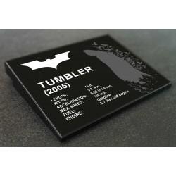 Plaque LEGO DC Batman La...