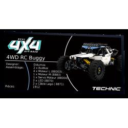 Plaque type UCS 4WD RC...